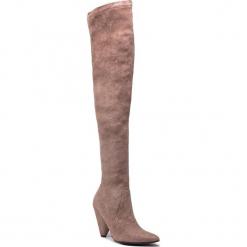 Muszkieterki EVA MINGE - Arromolis 4J 18SF1372594EF 903. Brązowe buty zimowe damskie Eva Minge, z materiału, na obcasie. W wyprzedaży za 409,00 zł.