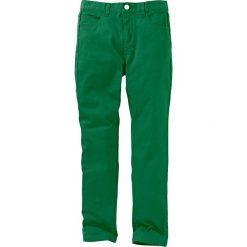 Rurki dziewczęce: Spodnie twillowe Slim Fit bonprix zielony