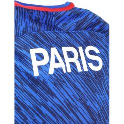 Nike Performance PARIS ST. GERMAIN DRY TOP  Artykuły klubowe hyper cobalt/hyper cobalt/rush red. Czarne bluzki dziewczęce marki Nike Performance, z bawełny. Za 199,00 zł.