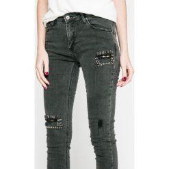 Answear - Jeansy. Czarne jeansy damskie rurki ANSWEAR. W wyprzedaży za 79,90 zł.