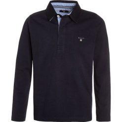 GANT THE ORIGINAL HEAVY RUGGER Koszulka polo evening blue. Niebieskie bluzki dziewczęce bawełniane GANT, m, z długim rękawem. Za 379,00 zł.