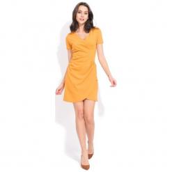 Fille Du Couturier Sukienka Damska Tango 40 Żółty. Czerwone sukienki Fille Du Couturier. Za 299,00 zł.