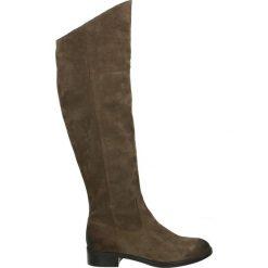 Kozaki - 2775 CAM GR43. Brązowe buty zimowe damskie Venezia, ze skóry. Za 349,00 zł.
