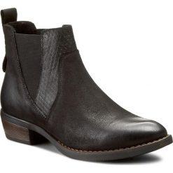 Sztyblety LASOCKI - WI16-DOLL-06 Czarny. Czarne buty zimowe damskie Lasocki, z materiału. W wyprzedaży za 139,99 zł.