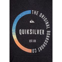 Quiksilver BUNDSY HOODY  Bluza z kapturem light grey heather. Szare bluzy chłopięce rozpinane marki Quiksilver, krótkie. W wyprzedaży za 170,10 zł.