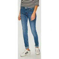 Levi's - Jeansy 710. Brązowe jeansy damskie rurki Levi's®. Za 399,90 zł.