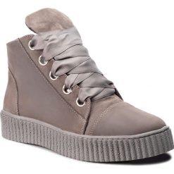 Sneakersy SERGIO BARDI - Istia FW127371518SW 409. Szare sneakersy damskie Sergio Bardi, z nubiku. W wyprzedaży za 239,00 zł.