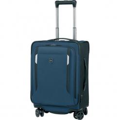 Walizka w kolorze ciemnoniebieskim - (S)36 x (W)51 x (G)23 cm. Niebieskie walizki Victorinox, z materiału. W wyprzedaży za 1029,95 zł.