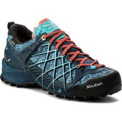 Trekkingi SALEWA - Wildfire Gtx GORE-TEX 63488-8964 Poseidon/Capri. Niebieskie buty trekkingowe damskie Salewa. W wyprzedaży za 669,00 zł.