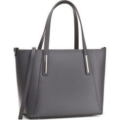 Torebka CREOLE - K10409 Szary. Szare torebki klasyczne damskie Creole, ze skóry. W wyprzedaży za 259,00 zł.