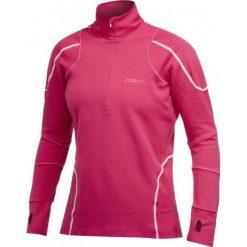 Craft Bluza damska Thermal Top różowa r. M (1900917-2469). Czarne bluzy sportowe damskie marki DOMYOS, z elastanu. Za 277,15 zł.