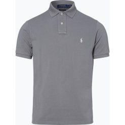 Polo Ralph Lauren - Męska koszulka polo, szary. Szare koszulki polo Polo Ralph Lauren, l, z bawełny, z krótkim rękawem. Za 449,95 zł.