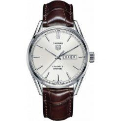 ZEGAREK TAG HEUER CARRERA WAR201B.FC6291. Czarne zegarki męskie marki KALENJI, ze stali. Za 10680,00 zł.