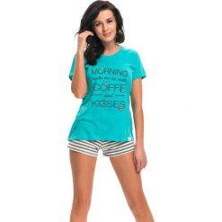 Piżamy damskie: Piżama w kolorze miętowym
