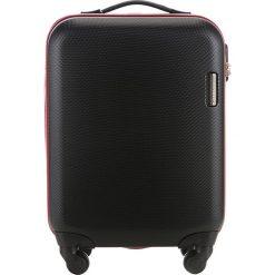 Walizka kabinowa 56-3A-610-10. Czarne walizki marki Wittchen, z gumy, małe. Za 219,00 zł.