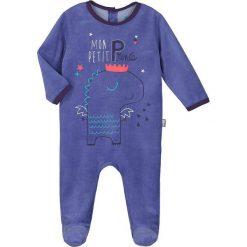 Śpiochy niemowlęce: Śpioszki w kolorze niebieskim