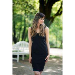 Sukienki: Sukienka dopasowana czarna Kim