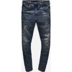 G-Star Raw - Jeansy D-Staq. Niebieskie jeansy męskie skinny marki G-Star RAW, z bawełny. W wyprzedaży za 629,90 zł.
