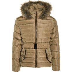 Lemon Beret Kurtka zimowa cornstalk. Brązowe kurtki dziewczęce zimowe marki Reserved, l, z kapturem. W wyprzedaży za 136,95 zł.