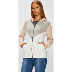 Roxy - Bluza. Szare bluzy rozpinane damskie Roxy, l, z bawełny, z kapturem. W wyprzedaży za 259,90 zł.