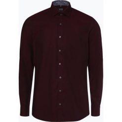 Olymp Level Five - Koszula męska łatwa w prasowaniu, czerwony. Czerwone koszule męskie na spinki OLYMP Level Five, m. Za 249,95 zł.