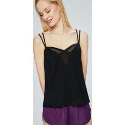 Calvin Klein Underwear - Top piżamowy. Różowe piżamy damskie marki Calvin Klein Underwear, l, z dzianiny. W wyprzedaży za 89,90 zł.