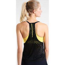 Adidas Performance SERIES TANK Koszulka sportowa black. Czarne topy sportowe damskie adidas Performance, z materiału. W wyprzedaży za 149,25 zł.