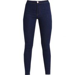 Lost Ink HIGH WAIST  Jeans Skinny Fit dark denim/in patchouli. Niebieskie rurki damskie Lost Ink, z podwyższonym stanem. Za 159,00 zł.
