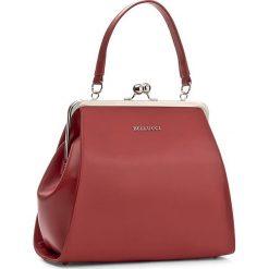 Torebka BELLUCCI - R-110 Czerwony Lico. Czarne torebki klasyczne damskie marki Bellucci. W wyprzedaży za 209,00 zł.