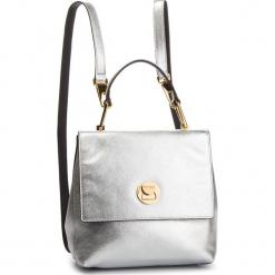 Plecak COCCINELLE - DD0 Liya E1 DD0 54 10 01 Silver/Noir 660. Szare plecaki damskie Coccinelle, ze skóry. Za 1499,90 zł.