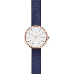 Zegarek SKAGEN - Signatur SKW2592 Blue/Rose Gold. Niebieskie zegarki damskie Skagen. Za 349,00 zł.