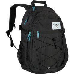 """Plecak """"Herkules"""" w kolorze czarnym - 33 x 50 x 18 cm. Czarne plecaki męskie Chiemsee Bags, w paski. W wyprzedaży za 173,95 zł."""