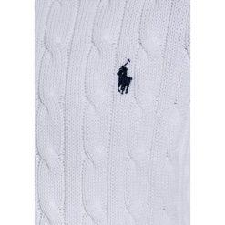 Polo Ralph Lauren Sweter white. Białe swetry chłopięce marki Polo Ralph Lauren, z bawełny, polo. W wyprzedaży za 287,20 zł.