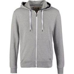 Bejsbolówki męskie: Solid DEACON Bluza rozpinana mottled light grey