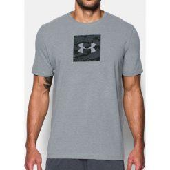 Under Armour Koszulka męska Camo Boxed Logo SS szara r. XS (1297954-035). Szare koszulki sportowe męskie marki Under Armour, z elastanu, sportowe. Za 76,62 zł.