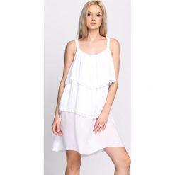 Sukienki: Biała Sukienka Be My Love