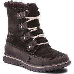 Śniegowce SOREL - Coza Joan NL2745 Black 010. Czarne buty zimowe damskie Sorel, z gumy. W wyprzedaży za 379,00 zł.