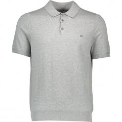 Koszulka polo w kolorze szarym. Szare koszulki polo marki Ben Sherman, m, z haftami, z bawełny. W wyprzedaży za 130,95 zł.