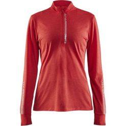 Bluzki asymetryczne: Craft Koszulka damska Mind Ls Reflective Zip Tee  Czerwona r. XL  (1905499-452000)