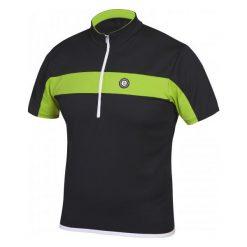 Etape Koszulka Na Rower Face Black/Green M. Czarne odzież rowerowa męska marki Etape, m, z krótkim rękawem, rowerowe. Za 149,00 zł.