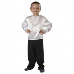 Koszula z Atłasu - kostiumy dla dzieci,. Szare koszule chłopięce marki ASTER. Za 47,34 zł.