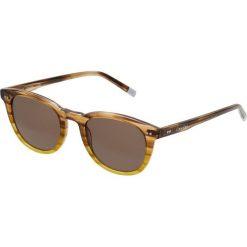 Calvin Klein Okulary przeciwsłoneczne brown/yellow. Brązowe okulary przeciwsłoneczne męskie aviatory Calvin Klein. Za 579,00 zł.