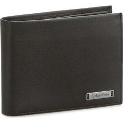 Portfele męskie: Duży Portfel Męski CALVIN KLEIN BLACK LABEL – Andr3W 5Cc+Coin K50K502005 Black 001