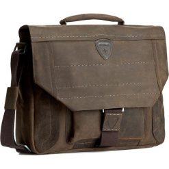 Torba na laptopa STRELLSON - Hunter 4010000029 D.Brown 702. Brązowe plecaki męskie Strellson. W wyprzedaży za 459,00 zł.