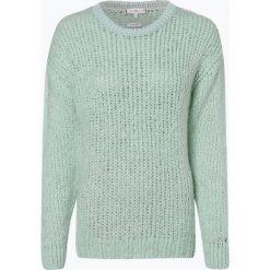 Tommy Hilfiger - Sweter damski z dodatkiem moheru, zielony. Zielone swetry klasyczne damskie TOMMY HILFIGER, l, z dzianiny. Za 599,95 zł.