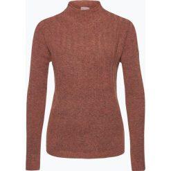 Swetry damskie: Marie Lund – Sweter damski, brązowy