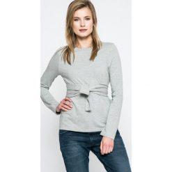 Noisy May - Bluza. Szare bluzy damskie marki Noisy May, l, z bawełny, bez kaptura. W wyprzedaży za 69,90 zł.