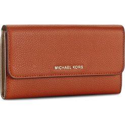 Portfele damskie: Duży Portfel Damski MICHAEL KORS – Mercer 32H6GM9F3L Orange