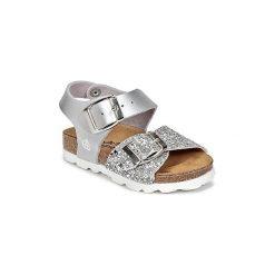 Sandały Dziecko  Citrouille et Compagnie  RELUNE. Czerwone sandały dziewczęce marki Born2be, z materiału, z otwartym noskiem, na zamek. Za 129,00 zł.