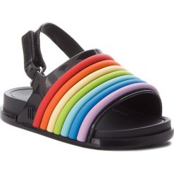 Sandały dziewczęce: Sandały MELISSA – Mini Melissa Beach Slide Sanda 32486 Black/Colorfull 53330